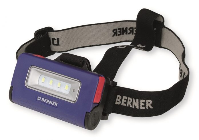 Berner 2-in-1 Stirnlampe