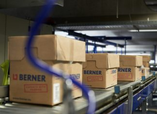 Berner Logistikzentrum in Künzelsau