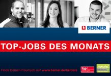 Top Jobs bei Berner